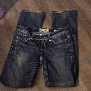 28 L BKE Payton bootcut blue jean